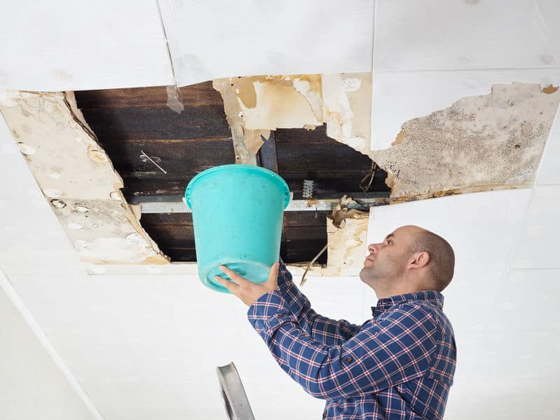 roof leak causes